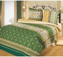 Постельное белье Хлопковый рай Аристократ (зеленый) Бязь