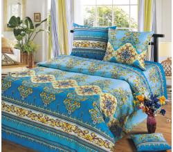 Постельное белье Хлопковый рай Версаль голубой Бязь