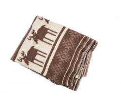 Одеяло шерстяное Жаккард арт.3 85%шерсть, 15%ПЕ