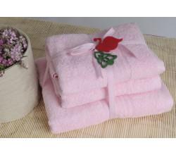 Shalla полотенца Pink (розовый)