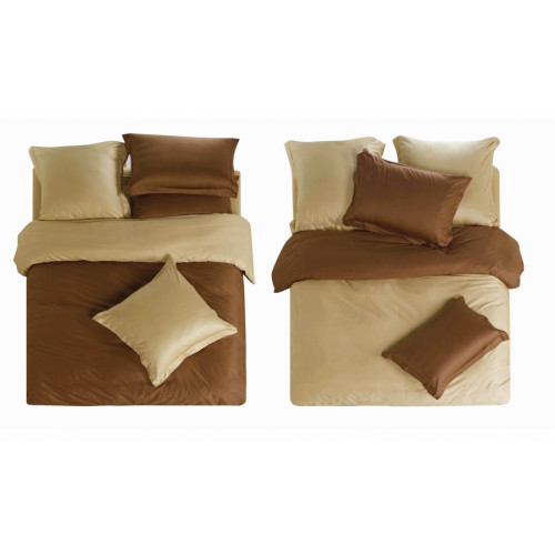 Однотонное постельное белье из сатина Sailid L-5