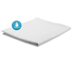Простынь АкваСтоп на резинке 100%хлопок (100гр+30гр TPU)